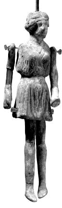 ancient roman puppet