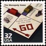 Monooly Stamp Usa