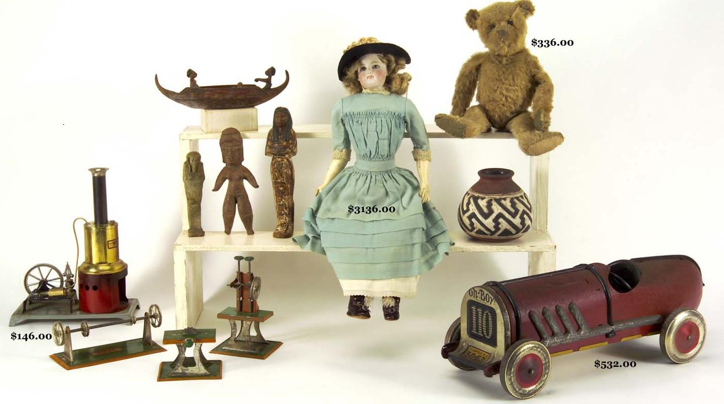 Toys From The Past : Old toys and classic games for a dip into past amusements