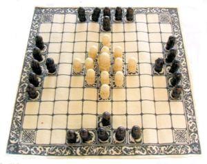 Viking game of Tafl