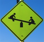 kids at play sign